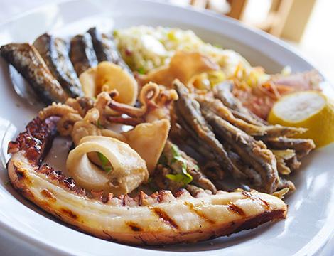 Ristorante Carina a Pompei: menu pesce_N