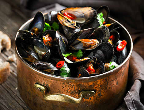Ristorante La Nuova Alba: menu pesce con vino