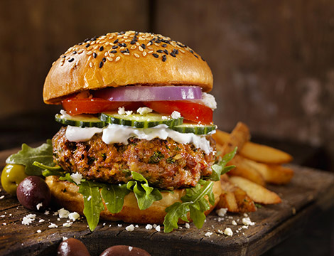 Ristorante Lucignolo Mangiafuoco: menu hamburger