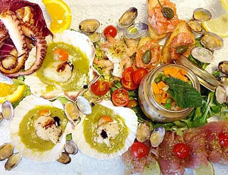 degustazione di pesce x 2 da Portolano Mediterraneo