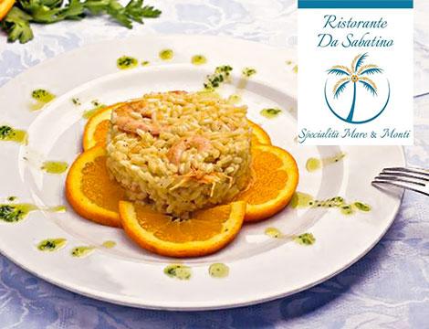 Ristorante da Sabatino: menu pesce x2