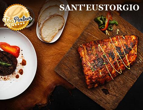 Sant'Eustorgio: menu con bottiglia in Colonne