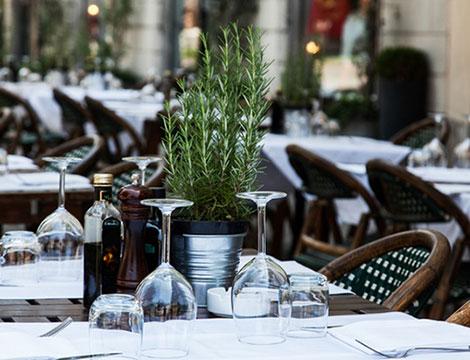 Cena nel dehors Ristorante Sant'Eustorgio