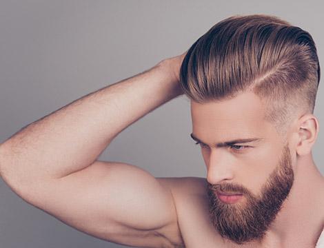 Sedute di hair styling uomo