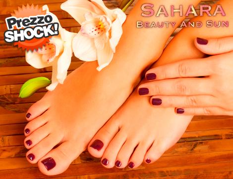Mani o piedi con semipermanente