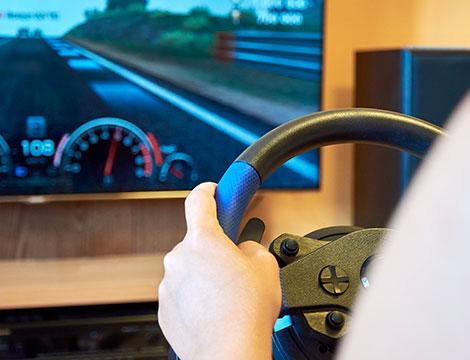 Simulatore di guida o di volo