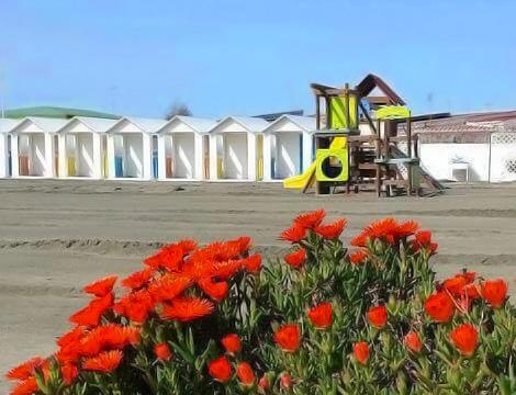 Spiaggia e lettino x2 Ostia_N
