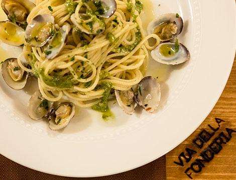 Super menu degustazione Via della Fonderia