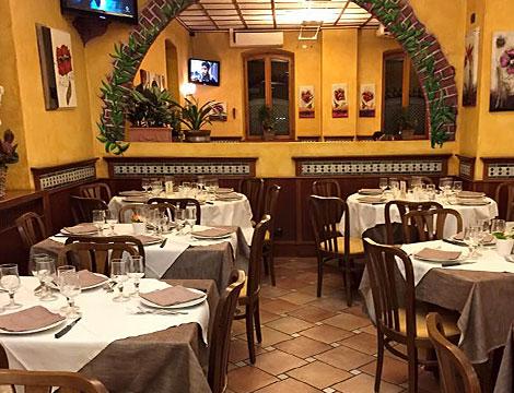 ristorante Alberoni Torino sala interna