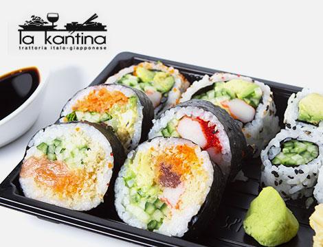 Sushi box asporto 56pz La Kantina