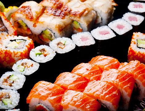 Sushi box asporto fino a 50 pezzi