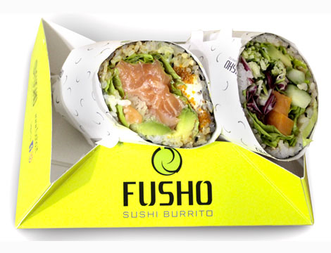 Fusho: sushi burrito solo su Groupalia_N