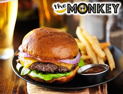 The Monkey Menù hamburger x 1