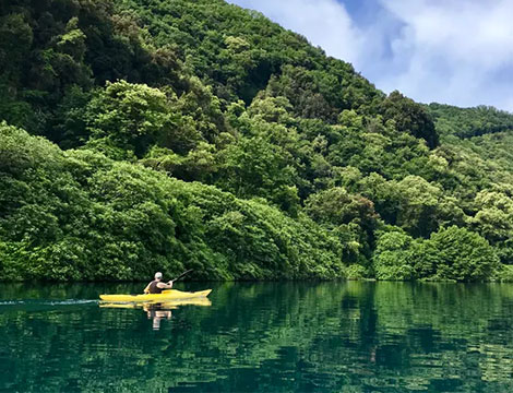 Tour del Lago in Kayak sul Lago di Castel Gandolfo