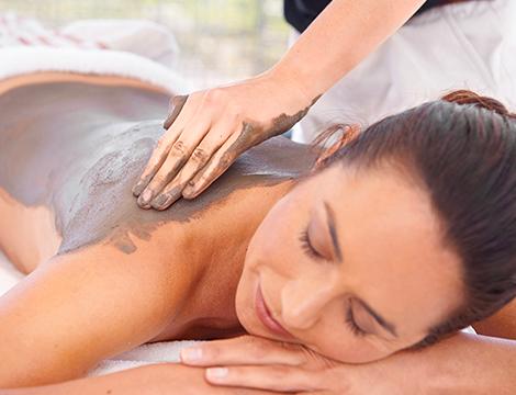 Trattamento e massaggio