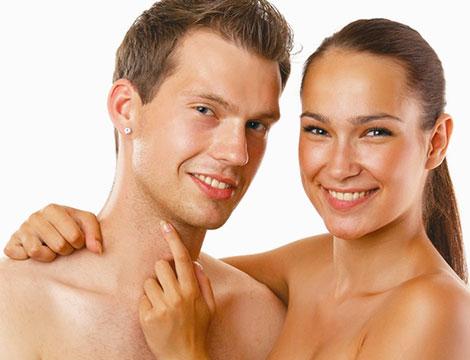 Trattamento viso uomo o donna