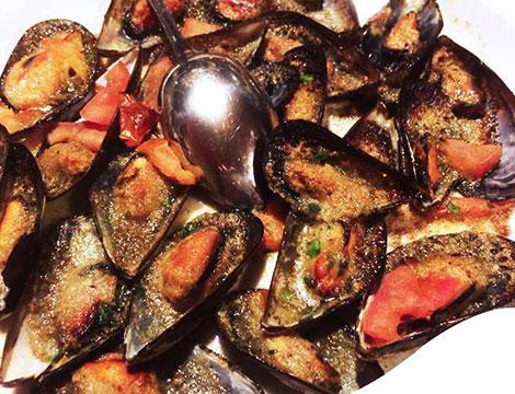 Ristorante San Martino cozze fresche gratinate