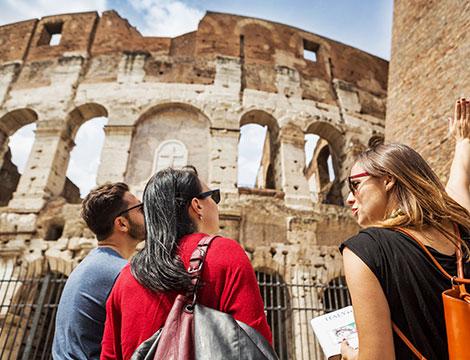 Visita guidata o audio-guida 3D del Colosseo