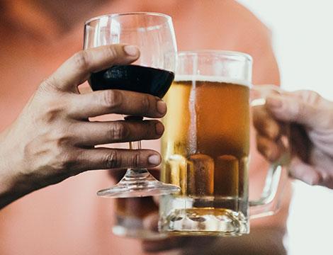 Visita all'azienda agricola con degustazione di vino e birra
