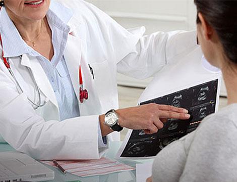 Visita ginecologica con ecografia
