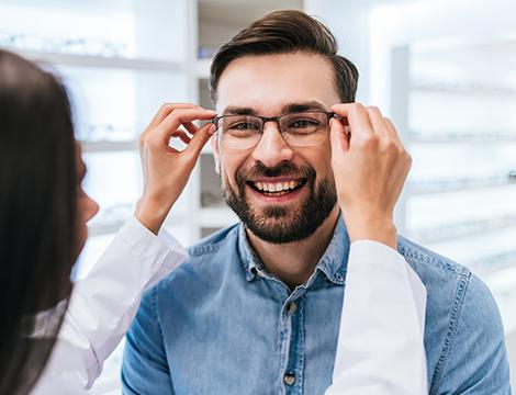 Occhiali o sostituzione lenti e controllo optometrico