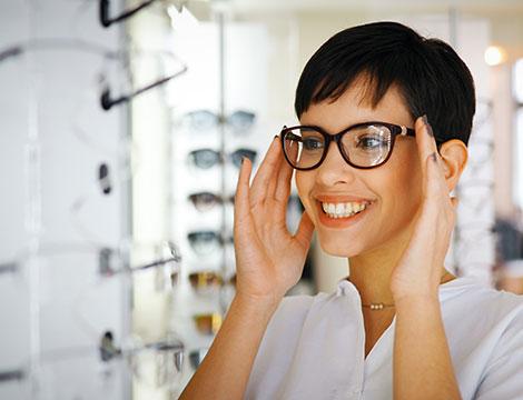 Visita optometrica con sostituzione lenti o con occhiali completi