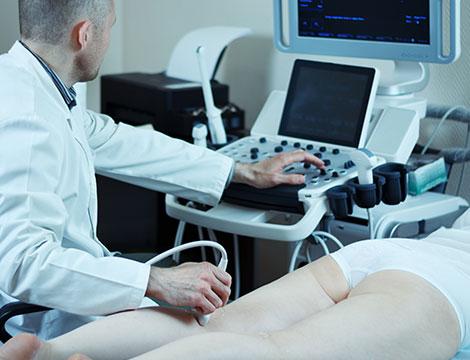 Visita vascolare e angiologica con Eco Color Doppler