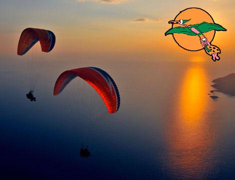 Volo in parapendio I Picchi_N