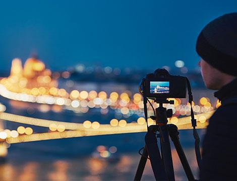 Workshop di fotografia notturna in esterna per una persona