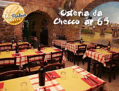 Torna da Checco Ar 65 menu romano x2