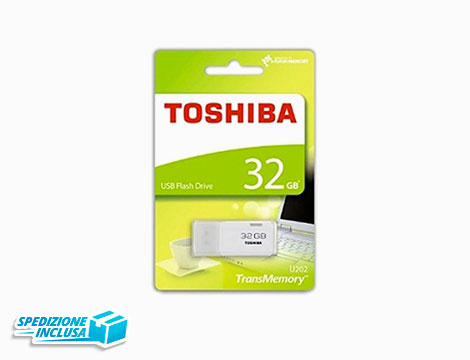 Chiavetta usb Toshiba 32gb