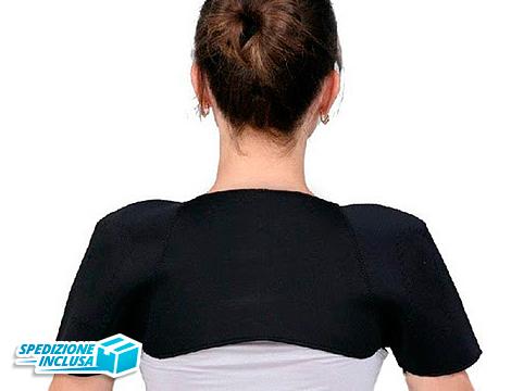 fino a 2 Fasce magnetiche riscaldanti per le spalle
