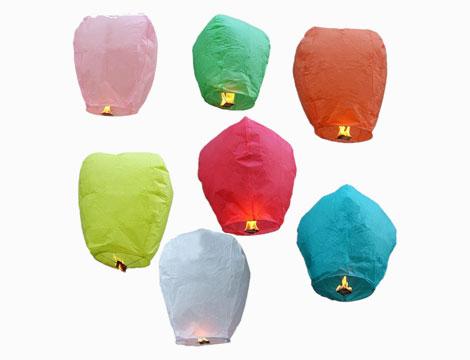 Image of 10 lanterne cinesi