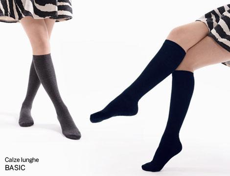 paia di calze lunghe da donna