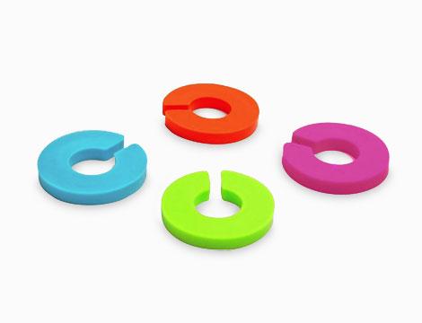 12 anelli segnabicchiere