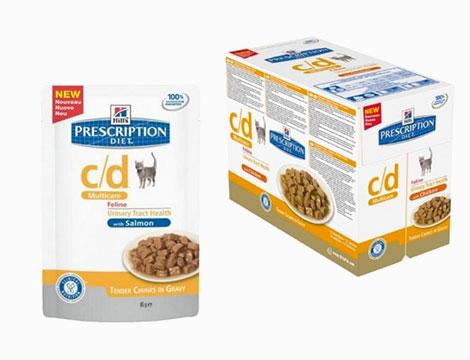 12 bustine umido dietetico per gatti
