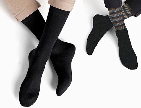 Image of 12 paia calze uomo filo di scozia