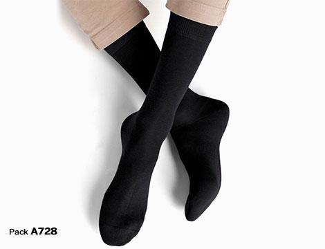 paia calze uomo filo di scozia_N
