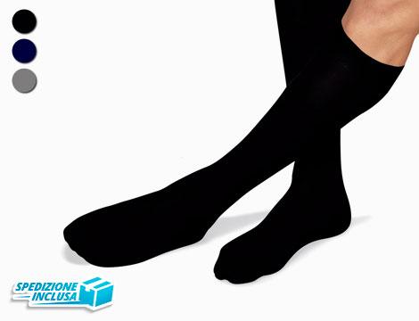 Image of 12 paia di calze uomo in cotone