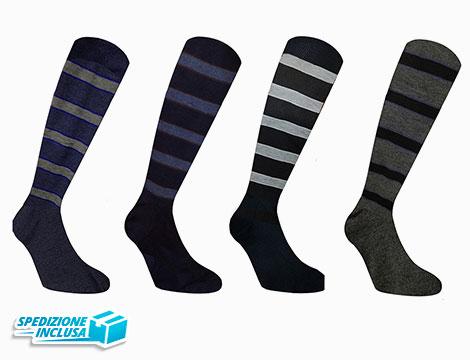Image of 12 paia di calzini da uomo lunghi