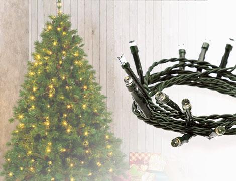 180 LED albero di Natale_N