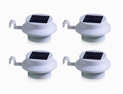 luci solari da grondaia