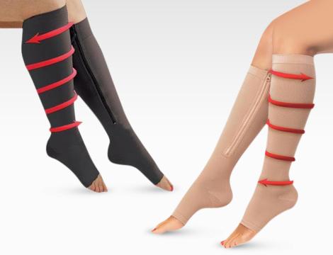 paia calze contenitive con zip