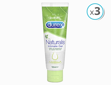 gel lubrificanti Durex Naturals 100ml
