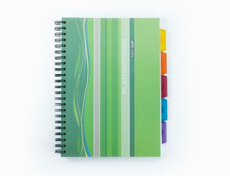 notebook PlanWorking A4 Techstaff