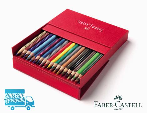 36 matite colorate Faber Castell Grip 2001