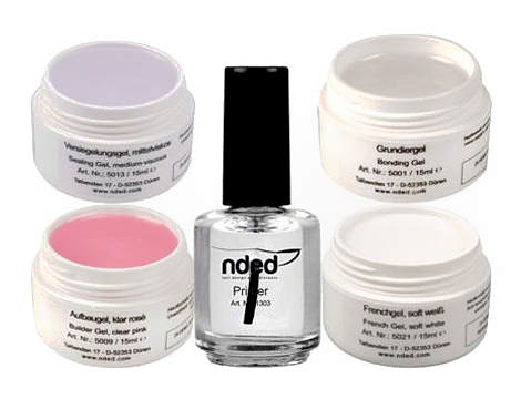Kit 4 gel 15ml con primer