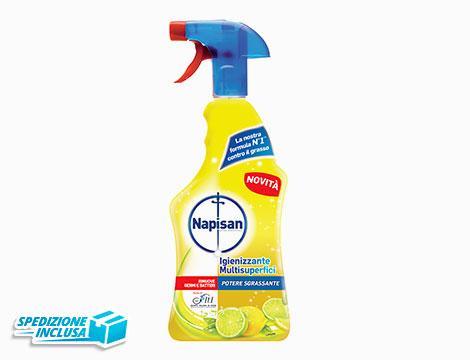 Spray sgrassanti e igienizzanti al limone_N