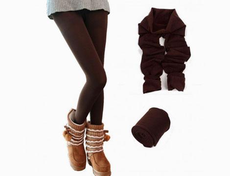 Pack 5 leggings termici_N