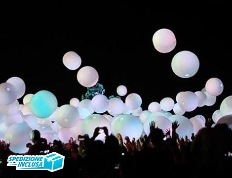 50 0 100 palloncini led bianchi_N